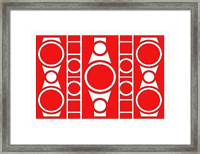 Modern Design IIi Framed Print by Mike McGlothlen