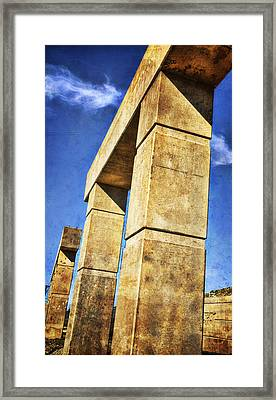 Modern Forum Framed Print by Joan Carroll
