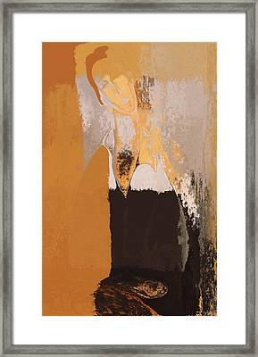 Modern From Classic Art Portrait - 073044049-02-85 Framed Print