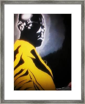 Modern Gladiator Framed Print by Donald Lyons