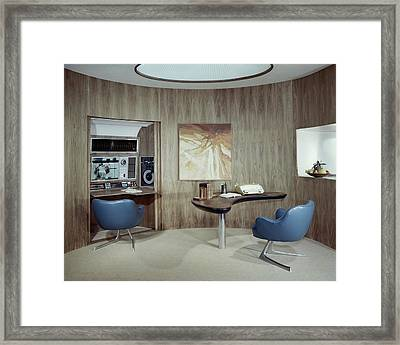 Modern Home Office Framed Print