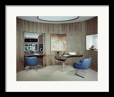 Home Office Furniture Framed Prints