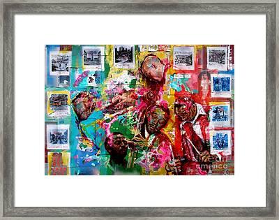 Modern Jazz Quartet Framed Print