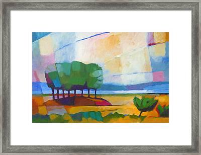 Modern Landscape Framed Print