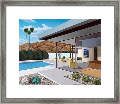 Modern Love Lg Framed Print by Snake Jagger