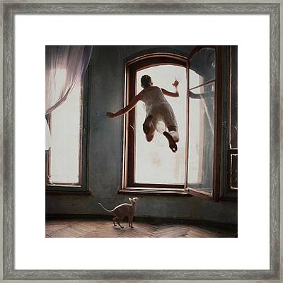 Modern Margarita Framed Print by Anka Zhuravleva