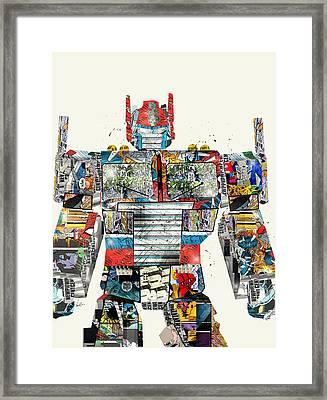 Modern Optimus  Framed Print by Bri B