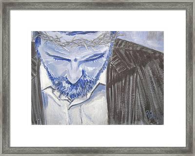 Modern Passion Framed Print by Robie Benve