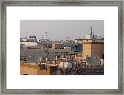 Modern Roofscape Framed Print by Mark Williamson