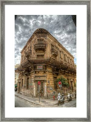 Framed Print featuring the photograph Modern Ruins Of Greece by Micah Goff