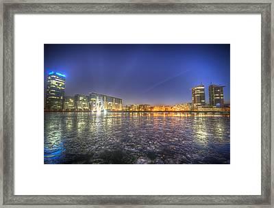 Modern Skyline  Framed Print by Nathan Wright