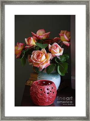 Framed Print featuring the photograph Modern Still Life by Tannis  Baldwin