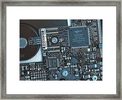 Modern Technology Framed Print by Jutta Maria Pusl