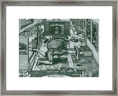 Modern Technology Framed Print by Richie Montgomery