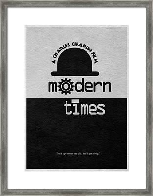 Modern Times Framed Print by Ayse Deniz