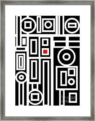 Modern Vibe 7 Framed Print