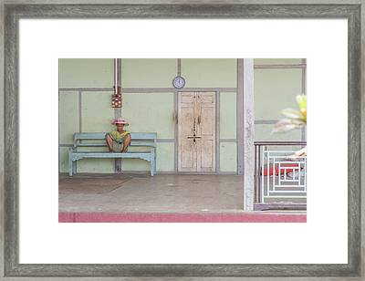 ''modernity'' Is Coming... Framed Print