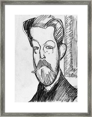 Modigliani - Paul Alexander Framed Print by Granger