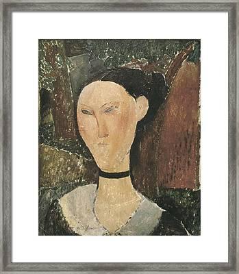 Modigliani, Amedeo 1884-1920. Woman Framed Print