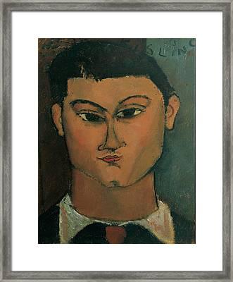 Modigliani Amedeo, Portrait Framed Print by Everett