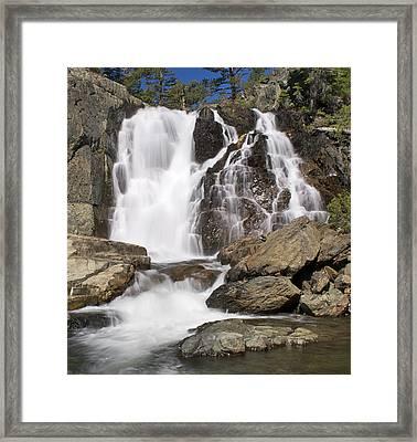 Modjesku Falls Framed Print