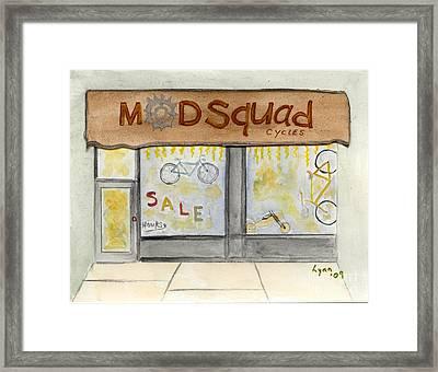 Modsquad Harlem Framed Print by AFineLyne