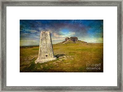 Moel Famau Framed Print by Adrian Evans