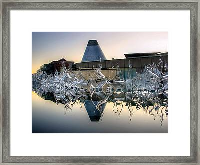 Mog Reflected Framed Print