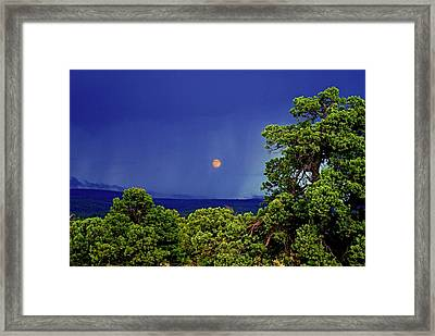 Mogollon Moon Framed Print