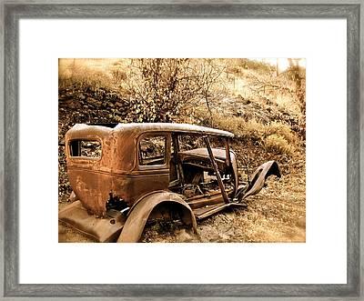 Mogollon Truck Framed Print