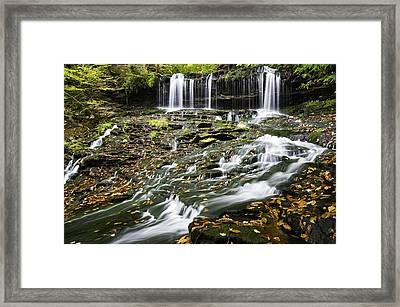 Mohawk Falls 1 Framed Print