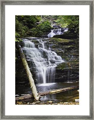 Mohican Falls Framed Print
