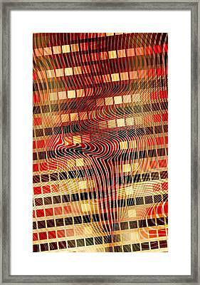 Moire 02052011 Framed Print by Matt Lindley