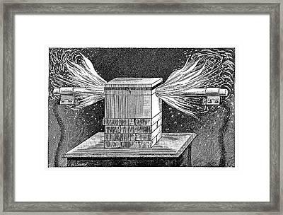 Moissan Furnace Framed Print