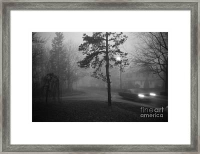 Moisture Framed Print