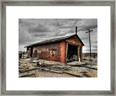 Mojave Hdr 013 Framed Print