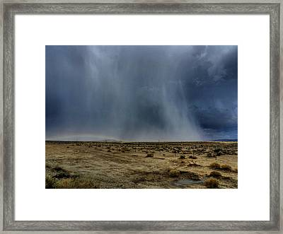Mojave Hdr 024 Framed Print by Lance Vaughn