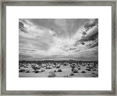 Mojave National Preserve Framed Print by Mike Herdering