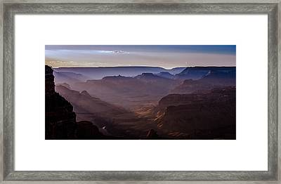 Mojave Point Framed Print