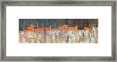 Mojave Skyline Framed Print by Buck Buchheister