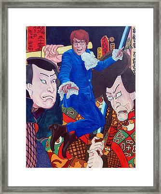 Mojo Baby Framed Print by Tom Roderick