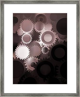 Mojo Synchronicity Framed Print