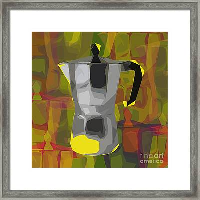 Moka Pot Framed Print by Jean luc Comperat