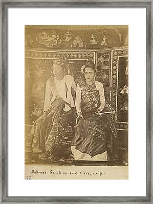 Mokmai Mawk Mai Sawbwa Framed Print