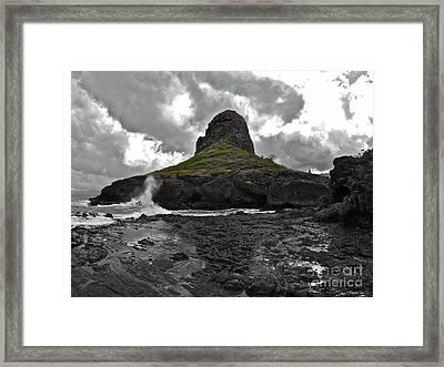 Mokoli'i Island Framed Print by Brian Governale