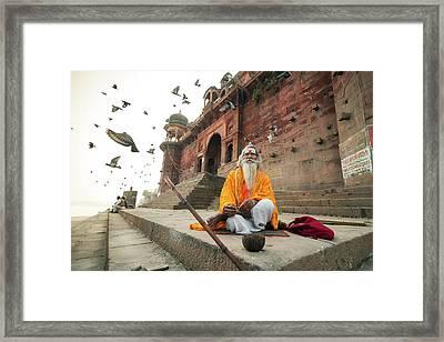 Moksha Framed Print
