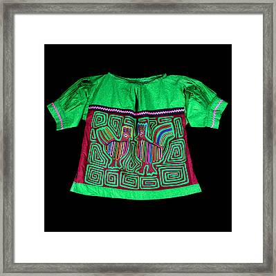 Mola Blouse Framed Print by Sherry Thorup
