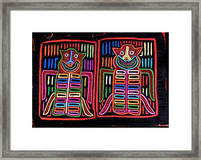 Mola Bugs Framed Print by Sherry Thorup