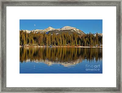 Molas Moon Framed Print