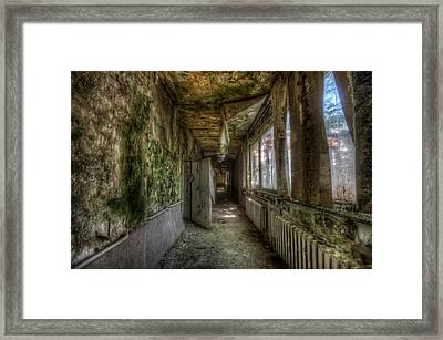 Mold Care Framed Print by Nathan Wright